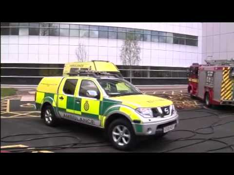 See The Fire Drill At The New Queen Elizabeth Hospital Birmingham