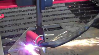 Longevity Plasma Cutter On A Torchmate Cnc 2x4 Table