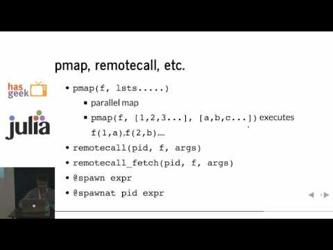 Amit Murthy - Concurrent and Parallel programming in Julia