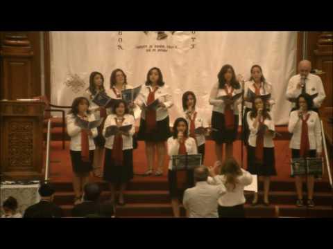 Strings of Joy Choir Presentation + H.G. Bishop Sarabamon's Sermon (Why the Pain?)