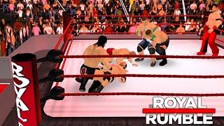 Download Wr3d Royal Rumble 2019 Full Match Wr3d 2k19 Mod MP3