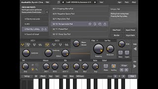 Video AUDIOKIT Synth One - 100% FREE - The Dark & Mysterious RED SKY LULLABY Pack Demo download MP3, 3GP, MP4, WEBM, AVI, FLV Agustus 2018