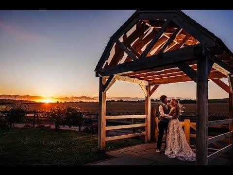 Hannah & Kieran's Long Furlong Barn Wedding