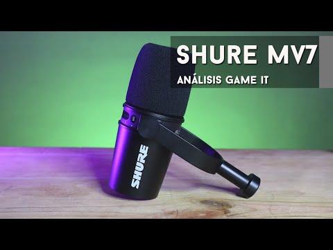 Shure MV7 #review y unboxing en español   GameIt ES