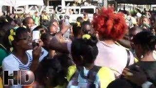 Gage Performance at Denbigh High School's Jamaica Day