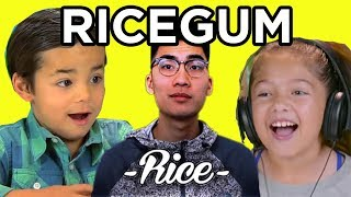 KIDS REACT TO RiceGum - Frick Da Police (Official Music Video) | TheFineBros