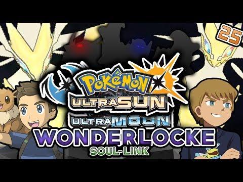 DO WE LOSE TO ULTRA NECROZMA?! Pokemon Ultra Sun Ultra Moon Wonderlocke Soul Link Part 25