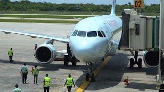 Air Canada A320 Docking in Varadero Airport