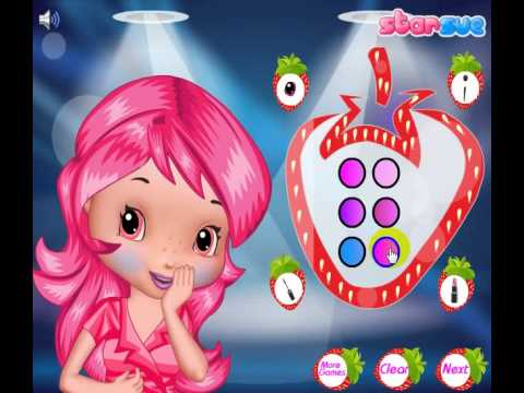 Pop Star Strawberry   Strawberry Games   Dress Up Games online game