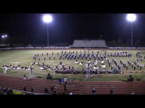 WVHS Walker Valley High School Band, Sept 30, 2016 Postgame Performance
