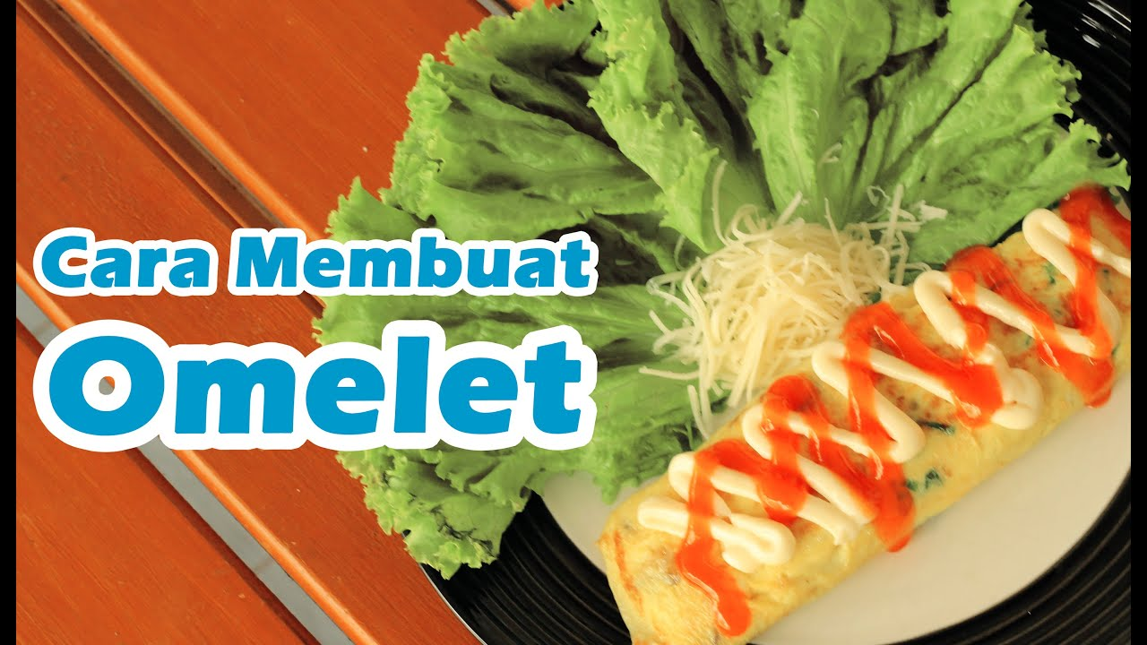 Omelet Jamur Disajikan untuk Keluarga