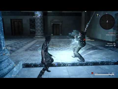 FINAL FANTASY XV Combat Tutorial: Spell Crafting and Wait Mode