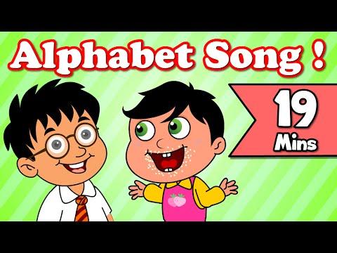Alphabet Song, Rain Rain Go Away | Plus Lots More Kids Nursery Rhymes| 19 Minutes Compilation