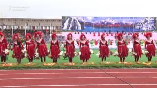 Tajik President Emomali Rahmon Dances for Nowruz