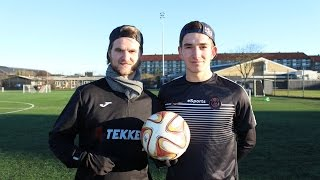 PENALTY SHOOT OUT & SECOND GOAL CHALLENGE WITH FOOTBALL-FREESTYLER BRIAN BRIZZE MENGEL !!