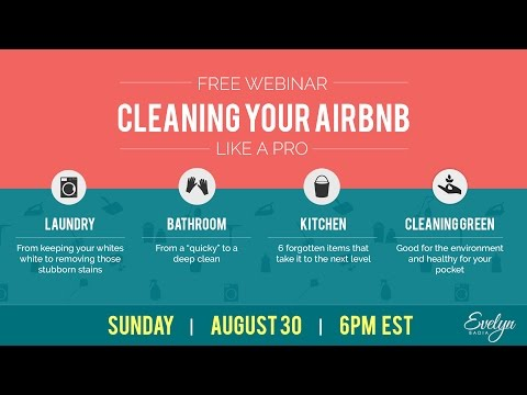 Cleaning Your Airbnb Like a Pro