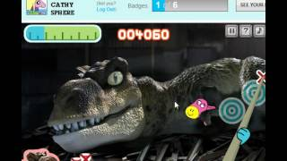 [I Suck] CN -Cartoon Network- ( The Amazing World Of Gumball = Dino Donkey Dash ) Level 1-2