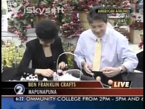 Decorate Eggs for Easter with Manolo & Eileen Tokita