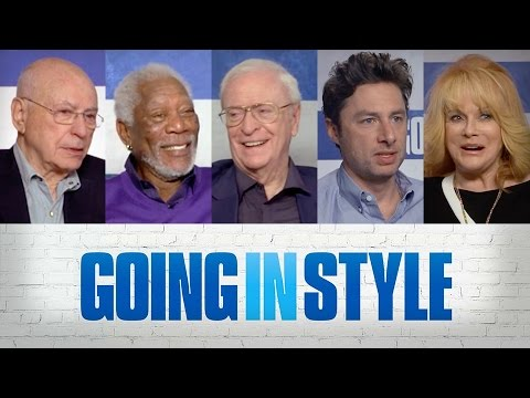 Sit Down With the Stars: Going In Style – Regal Cinemas [HD]