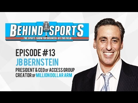 [HD] Behind Sports Episode #13 JB Bernstein -- President and CEO of Access Group