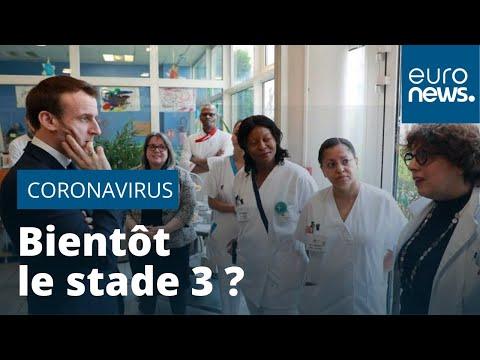Coronavirus: la France se rapproche du stade 3 de l'épidémie