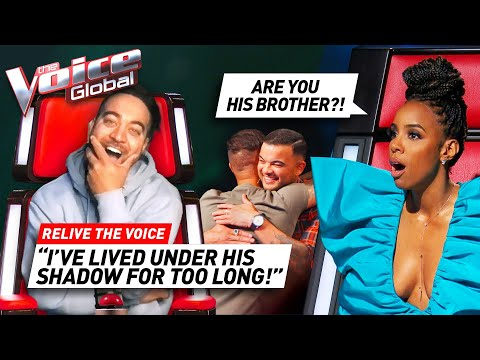Would Coach Guy recognize his own BROTHER on The Voice? | Relive The Voice