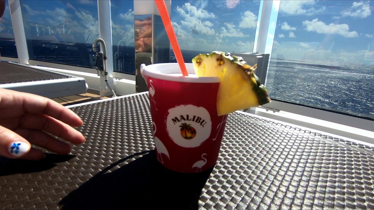 MSC Seaside - drinks