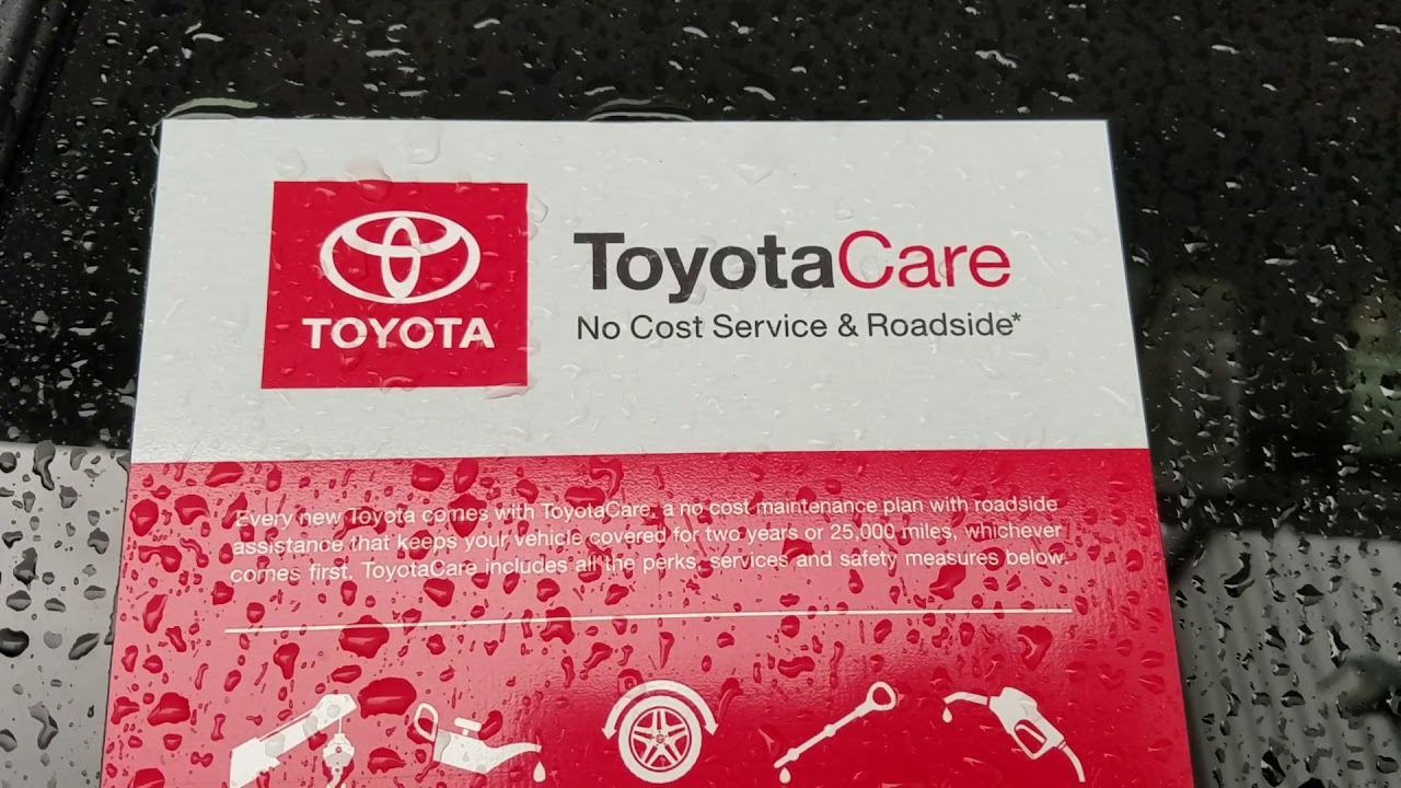 Toyotacare Roadside Assistance Number >> 2018 Toyota Rav4 For Agnes From Wayne Pittman Youtube