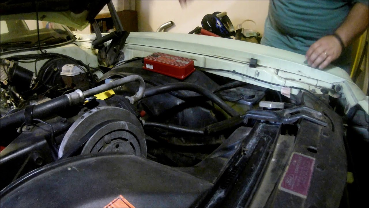how to install an msd 6al in a 1973 ford torino - part 1