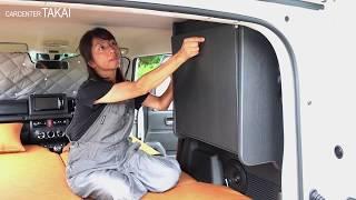 新型ジムニー・ジムニーシエラ 車中泊マット&収納BOX