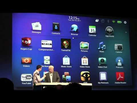BlackBerry BBX Demo With HTML5 - BlackBerry DevCon 2011
