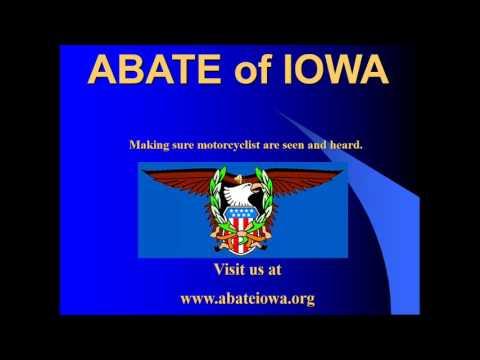 ABATE of Iowa Share the Road Presentation