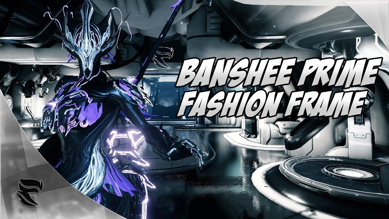 Warframe: Banshee Prime Fashion Frame