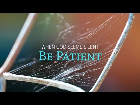 Exodus - When God Seems Silent, Be Patient - Peter Tanchi