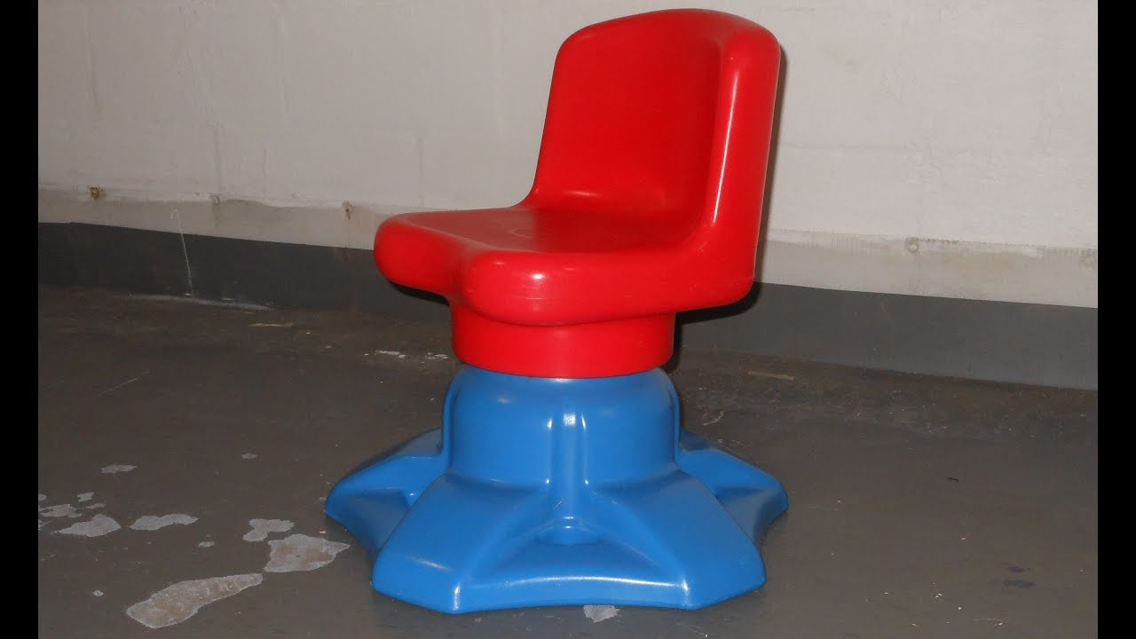 Little Tikes Swivel Desk Chair Youtube
