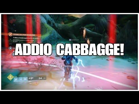 Sistemare in modo definitivo (per davvero) l'errore cabbagge su Destiny 2
