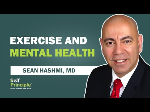 How does exercise affect depression and anxiety?