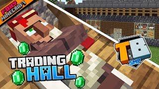 TRADING HALL | Truly Bedrock [1-03] | Minecraft Bedrock Edition