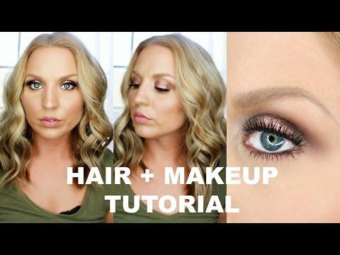 Olive & Antique Gold Makeup + Hair Tutorial l Kathleen Lights X Colourpop Collab