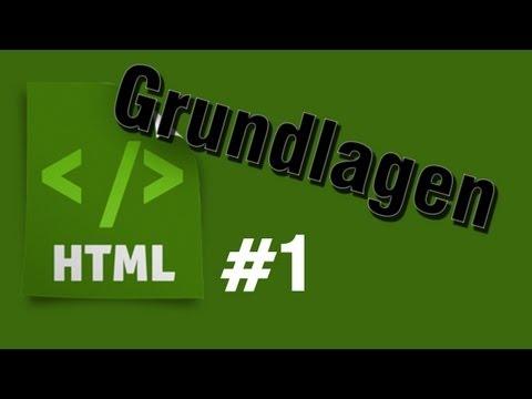 HTML Tutorial 1: Grundlagen [HD] - TutorialChannel