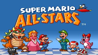 Super Mario All Stars SMB3 Enemy Battle (PAL Version)