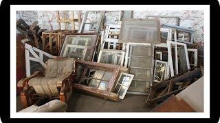 Thrifted DIY: Vintage Decor Window Frame | FashionistaBlogger