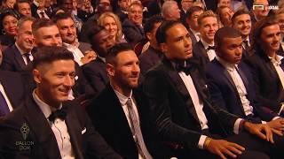 Messi Pallone D'oro 2019: L'esultanza Sfrenata Dei Figli