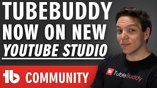 TubeBuddy now available in YouTube Studio Beta!