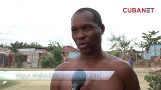 """Cubanos viven en favelas o """"quimbos"""" en Guantánamo, Cuba"""