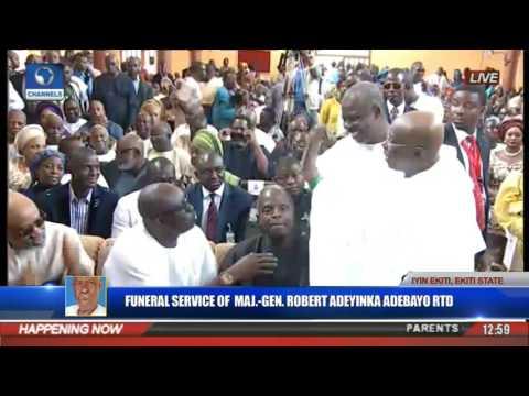 Funeral Service Of Major Gen Robert Adeyinka Adebayo Rtd Pt 10