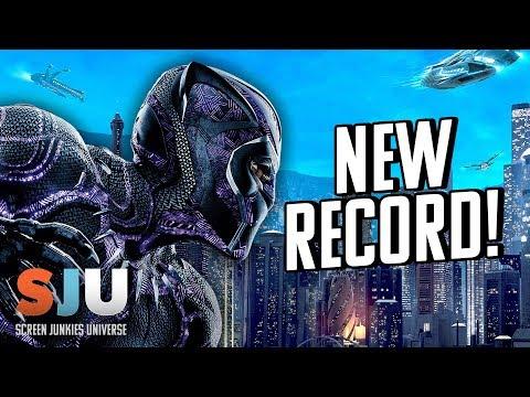 Black Panther ALREADY Breaks Superhero Record!! - SJU