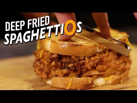 Uh Oh! Deep Fried Spaghettios