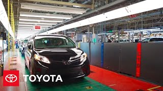 2021 Sienna - Behind the Scenes: Manufacturing | Toyota