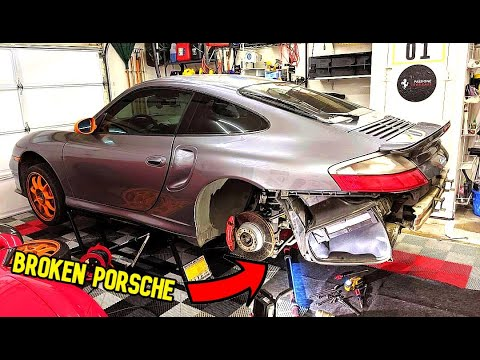 How to Save THOUSANDS of DOLLARS in PORSCHE MAINTENANCE. **DIY Brake Job**
